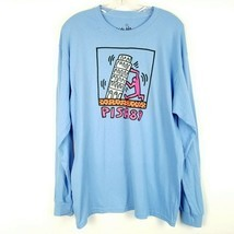 NEW KEITH HARING Pisa 89 Graphic T-Shirt Ripple Junction Long Sleeve Men... - $44.54