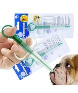 Dog Cat Feeding Kit Pet Tablet Giving Aid(Transparent M) - $11.48