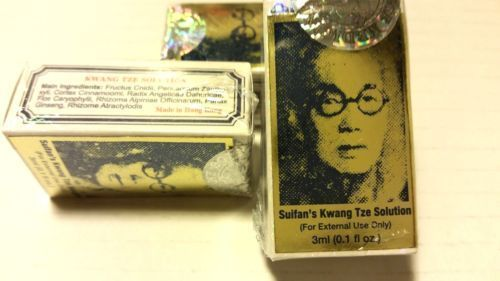 3 Pcs, Suifan's Kwang Tze, Solution Authentic, 3 ml, 0.1 Oz ( New In Box)