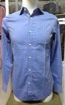 G Star RAW Correctline Dress Shirt L/S in Track Blue, Size XXL BNWT $130 - $49.75