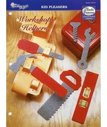 Workshop Helpers Toy Tools Wrench Plastic Canvas Pattern/Instructions - $1.32
