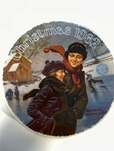 Norman Rockell Edwin Knowles Plate Christmas 1982 A2 - £11.01 GBP