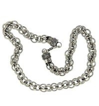 ¦Men's 925 Sterling Silver Bali Multi Rolo Link... - $232.82