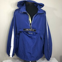 VTG Tommy Hilfiger Jacket Windbreaker Sailing  Stow Packable 90s XL Coat - $89.99