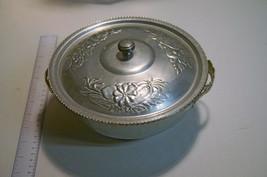 Vintage Aluminum Covered Serving Bowl - $16.60