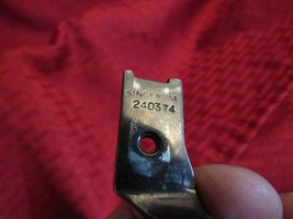 Vintage Singer industrial sewing machine parts walking foot for cording,... - $8.60