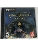 MIDNIGHT MYSTERIES TRILOGY HIDDEN OBJECT PC DVD-ROM VIDEO GAME 2018 NEW ! - $14.95
