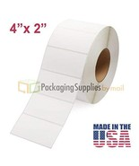 """Direct Thermal, Perforated, 4"""" x 2"""", 3"""" Core, 2875 Labels per Roll (40 R... - $614.41"""