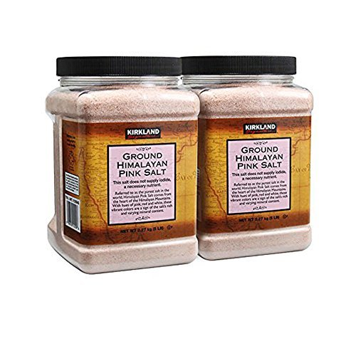 Kirkland Signature Himalayan Pink Salt 5 lbs. (Pack of 2) - $38.60