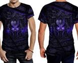Black panther purple neon tee men thumb155 crop