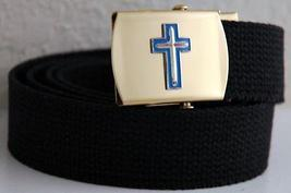 USAF Claplain Black Belt & Buckle  - $14.99