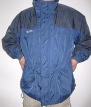 XXL Columbia Core Interchange Jacket Navy Black Windbreaker Light Coat No Hood - $59.39