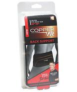 """Copper Fit Compression Back Support - Adjustable 28""""- 39"""" Waist - $9.95"""