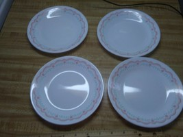 Corelle Lorraine  pink scalloped pattern - $19.79
