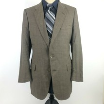Lanvin Men's size 40L Brown Wool Neiman Marcus Blazer Sport Coat Jacket - $38.49