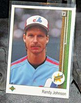 1989 Upper Deck Rookie Randy Johnson Pitcher  AA20-BTC3031 Baseball Trading Card image 4