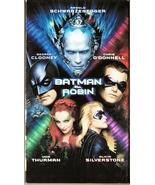 Batman and Robin VHS Arnold Schwarzenegger George Clooney Chris O'Donnell - $1.99
