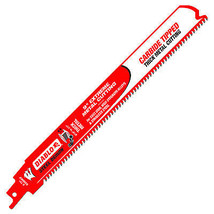 Demon Reciprocating Blade, Thick Metal, Carbide-Tipped, 9-In. - $28.70