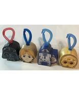 Star Wars McDonald's Toys Lot Of 4 Luke Skywalker Darth Vader C-3PO R2-D2 - $10.88