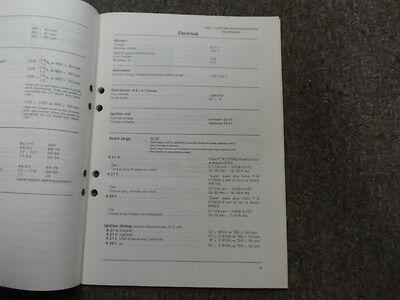 1980 Volvo Modelle Kraftstoff Motoren Wartung Service Shop Manuell Fabrik OEM image 7