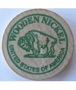 "Wooden Nickel From: ""Vallejo Numismatic Society"" - (sku#4980) - $7.50"