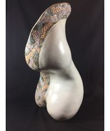 Abstract Contemporary Women Figure Curves Mosaic Edge Hand Crafted Art S... - $201.60