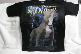 PITBULL DOG TERRIER LIGHTNING AMERICAN PIT BULL T-SHIRT SHIRT MESH FRONT - $12.55