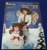 The Needlecraft Shop 953312 Heavenly Messengers JOY Plastic Canvas Book - $7.09