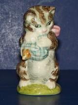 "Adorable Royal Albert England Miss Moppet Beatrix Potter 3"" Cat Figurine - $20.03"