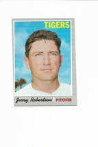 1970 Topps High Number #661 Jerry Robertson, Detroit Tigers - $3.60