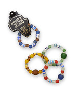 W2299 handmade african trade bead stretch bracelet thumbtall