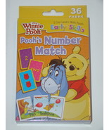 Winnie the Pooh - Pooh's Number Match - Learning Cards (36 Cards) - $8.00