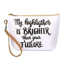 My Hightlighter cosmetic bag  - $25.95