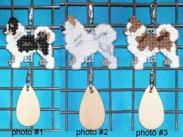 Chihuahua Long Coat dog crate tag or hang it anywhere, handmade, color o... - $14.00