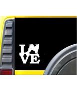 Alaskan Malamute Love Window Decal Sticker J571 - $4.99