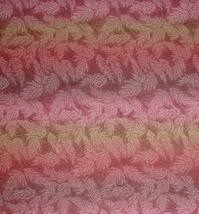 Wheat Tips Fabric Fall Print Rust Tan Brown Touch Gold Glitter Autumn Co... - $5.25