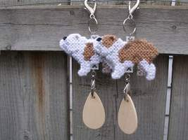 Bulldog crate tag or hang it anywhere, dog English, handmade, choose you... - $14.00