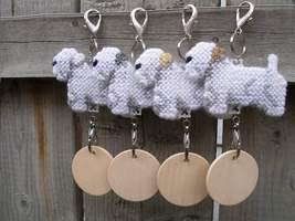 Sealyham Terrier dog crate tag or hang it anywhere, handmade, choose you... - $15.00