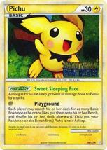 Pichu 28/123 Holo Prerelease HGSS Pokemon Cards - $8.79