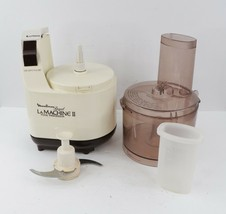 Vintage Moulinex Regal La Machine II Food Processor Preparation w Extras... - $89.05