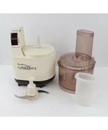 Vintage Moulinex Regal La Machine II Food Processor Preparation w Extras... - $80.14