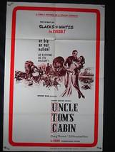 Uncle Tom's Cabin One Sheet Poster- Kroger Babb Exploitation - $80.70