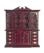 Town Square Miniatures Doll House China Cabinet - T3439 - $24.99