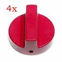 Knob, Gas Valve (Red, 2OD) 4pcs Vulcan 420560-1 For Vulcan Series 7800,SG7800 - $24.74