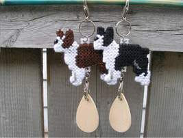 Boston Terrier dog crate tag or decor, hang it anywhere, handmade, color... - $14.00