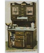 St Louis MO. Landau Cabinet Co. Kitchen Hoosier Style 1908 to Franks Postcard O1 - $38.95