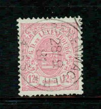 LUXEMBOURG 1859  # 8  USED CLASSIC STAMP  S12836-1 - $49.50