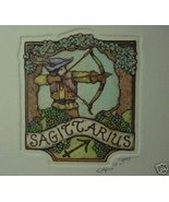 "Alice Scott Horoscope ""Sagittarius"" Original - $14.19"