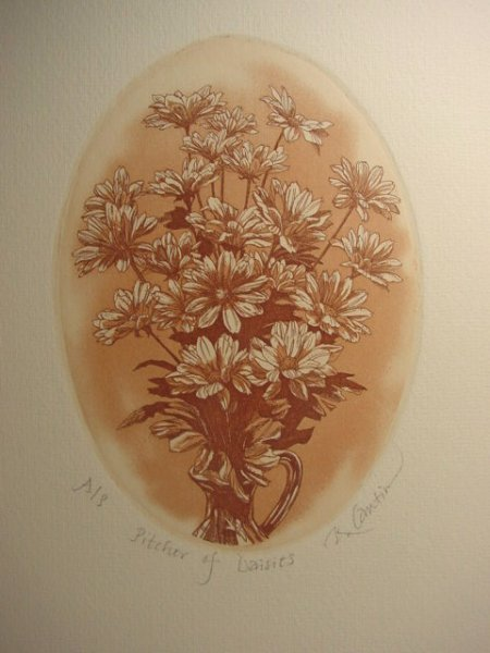 Kathleen Cantin AP of Pitcher of Daisies