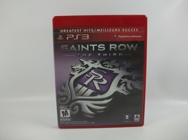 Saints Row The Third PS3 Playstation 3 Greatest Hits Video Game - $7.50